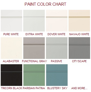Painted Door Colors
