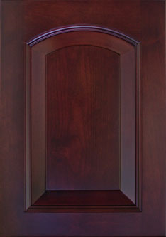Cabinet Door: ALDER HOMETOWN ARCH RAISED PANEL Door